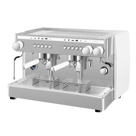 CoffeeMachinesCo - Saeco - Perfetta White Three Quarters