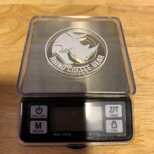 CMC - Rhino Coffee Gear Dosing Scale