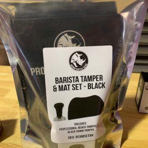 CMC - Rhino Tamper & Mat Set Black